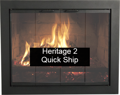 Thermorite Heritage 2 Glass Fireplace Door