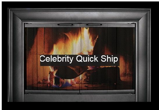 Thermorite Celebrity Glass Fireplace Door