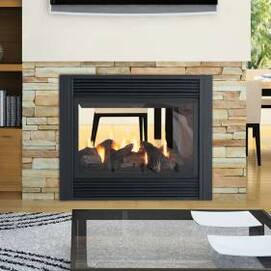 Regency Panorama P121 See-thru Gas Fireplace