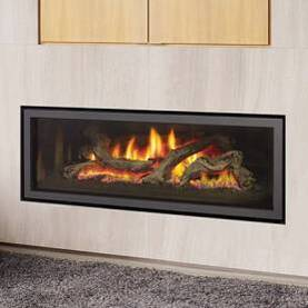 Regency Ultimate Linear Direct Vent gas Fireplace