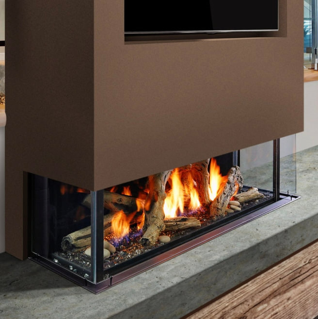 Marquis Collection Enclave Peninsula Direct Vent Gas Fireplaces