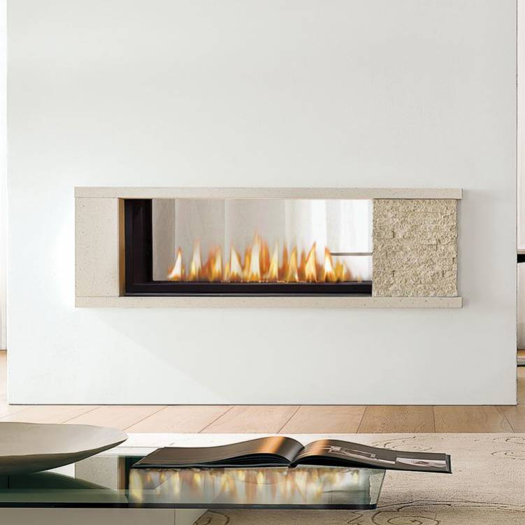 Marquis Collection Infinite See Thru Direct Vent Gas Fireplaces
