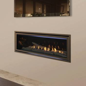 Majestic Jade Linear Gas Fireplace
