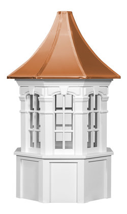 Ridgraft Danbury Copper Roof Cupola