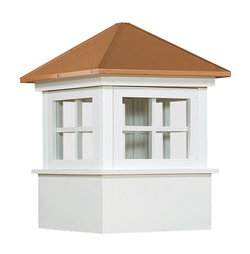 Ridgraft Ellsworth Copper Roof Cupola