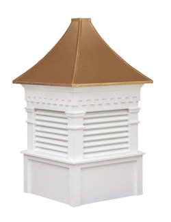 Ridgraft Greenfield Copper Roof Cupola