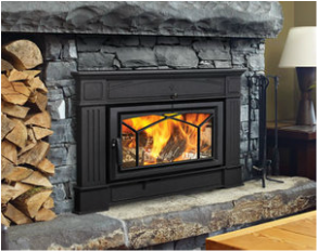 Regency Wood Fireplace Insert