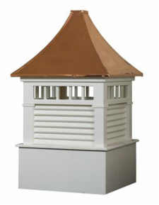 Ridgraft Norwood Copper Roof Cupola