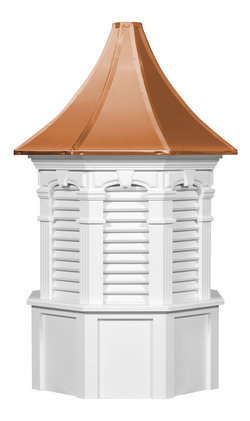 Ridgraft Oxford Copper Roof Cupola