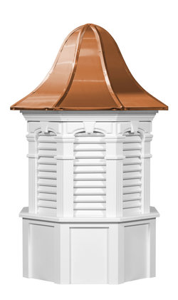 Ridgraft Plymouth Copper Roof Cupola