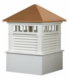 Ridgraft Waterford Copper Roof Cupola