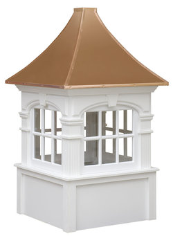 Ridgraft Fairfield Copper Roof Cupola