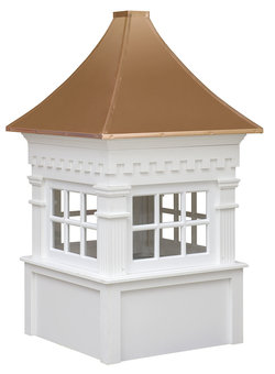 Ridgraft Jamesport Copper Roof Cupola