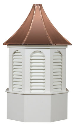 Ridgraft Kingston Copper Roof Cupola