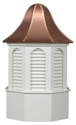 Ridgraft Pinnacle Copper Roof Cupola