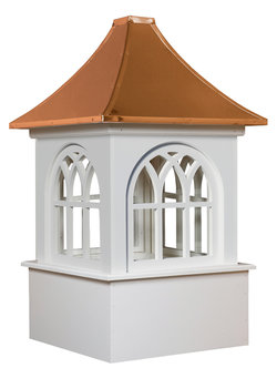 Ridgraft Roxbury Copper Roof Cupola