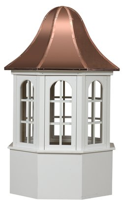 Ridgraft Villa Copper Roof Cupola