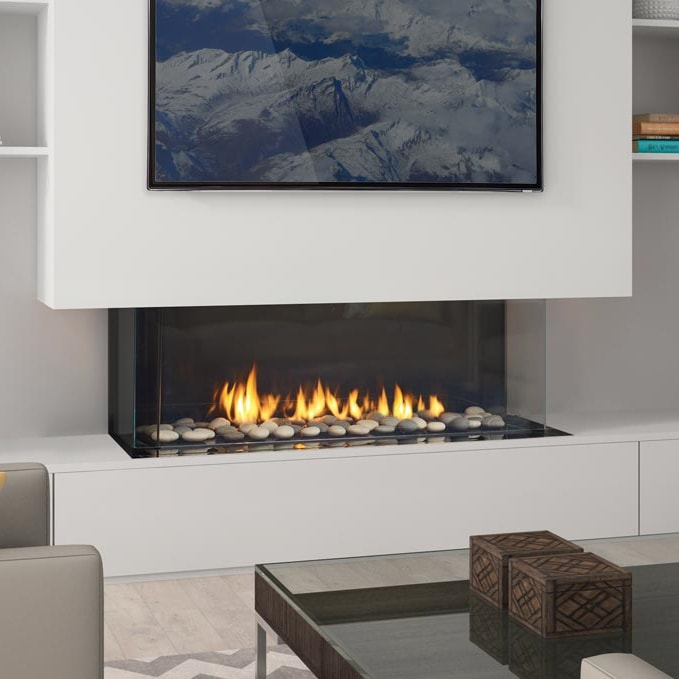 Regency City Series San Francisco Bay Gas Fireplace